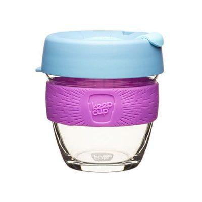 keepcup üveg kávéspohár lavender hulladékmentes.hu