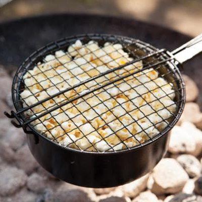 Popcorn sütő serpenyő kerti grill táborozás_hulladekmentes.hu03