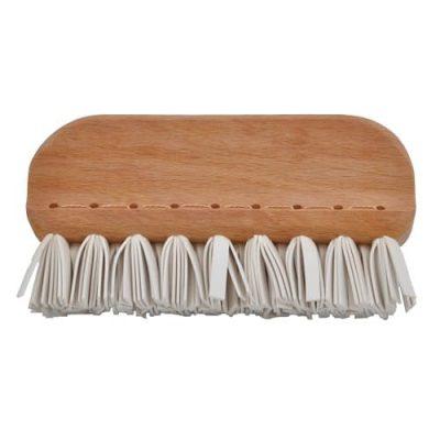 állatszőr eltávolító kefe kézzel készült fából természetes gumiból hulladékmentes.hu