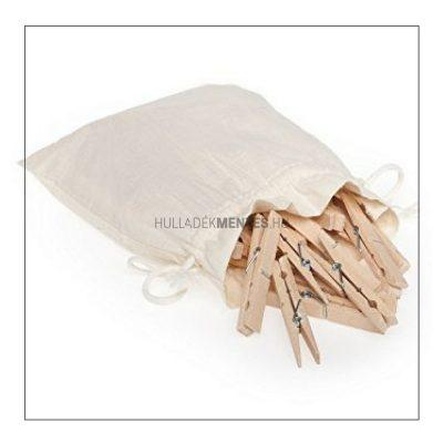 fa ruhacsipesz vászonzsákban hulladékmentes.hu