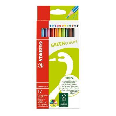 színes ceruza stabilo fsc 12 db hulladékmentes.hu
