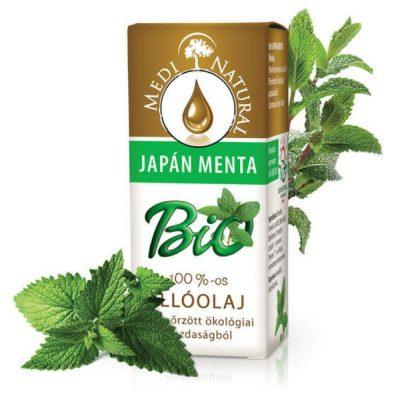 menta japán bio illóolaj medinatural hulladékmentes.hu