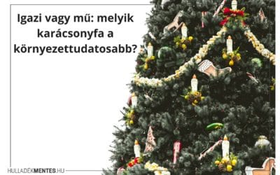 Igazi vagy mű: melyik karácsonyfa a környezettudatosabb?