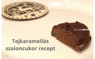 Tejkaramellás szaloncukor recept