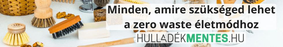 Hulladékmentes.hu - zero waste életmód blog és webáruház